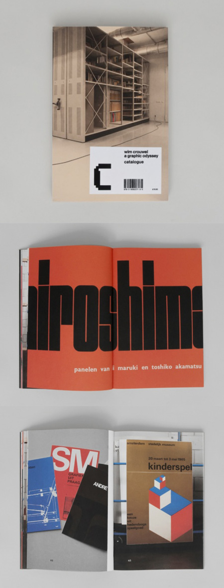 Wim crouwel graphic odyssey catalogue