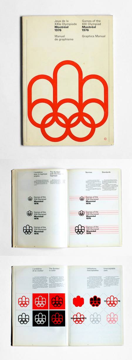 1976 montreal olympics graphics manual