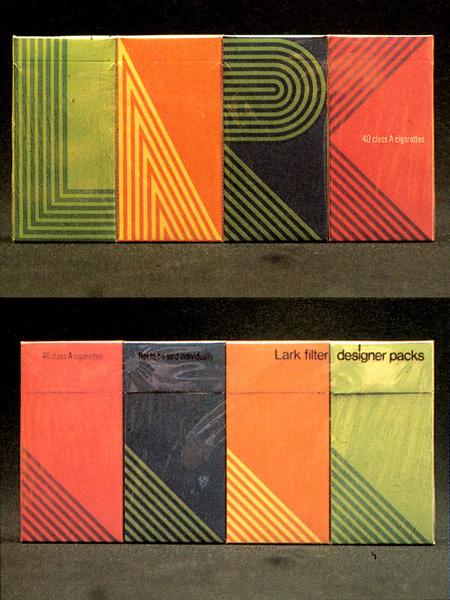 George tscherny lark cigarettes