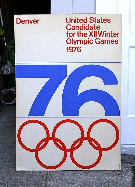 1976 Denver Winter Olympics Poster