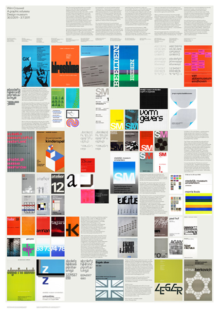 Wim Crouwel Poster by Antonio Carusone