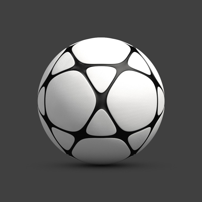 Soccer-ball by Maxim Bykov