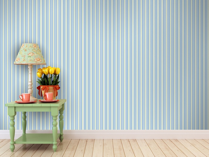 Wallpapered