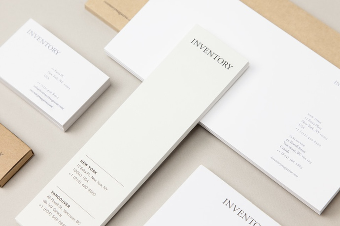 Inventory Stationery