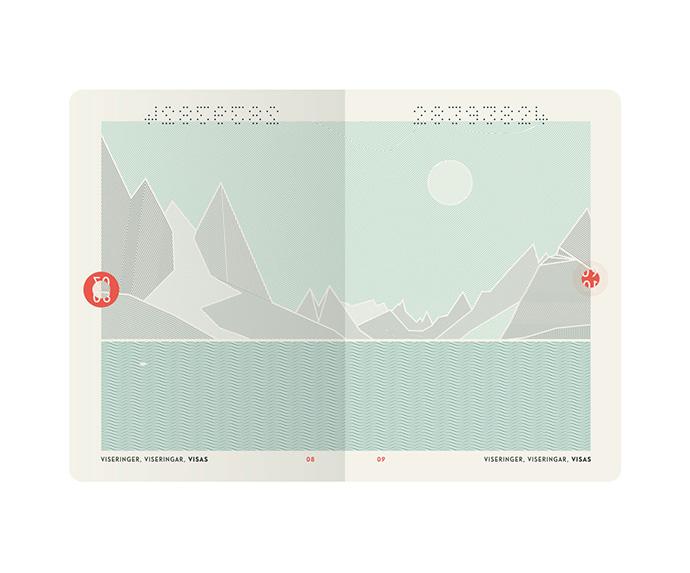 Neue Norwegian Passport